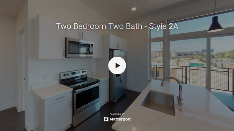 Two Bedroom Two Bath - Style 2A