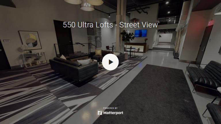 550 Ultra Lofts - Street View