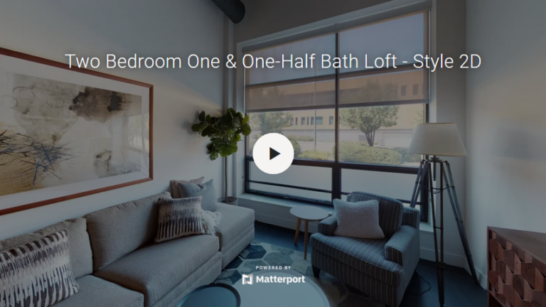 Two Bedroom One & One-Half Bath Loft - Style 2D